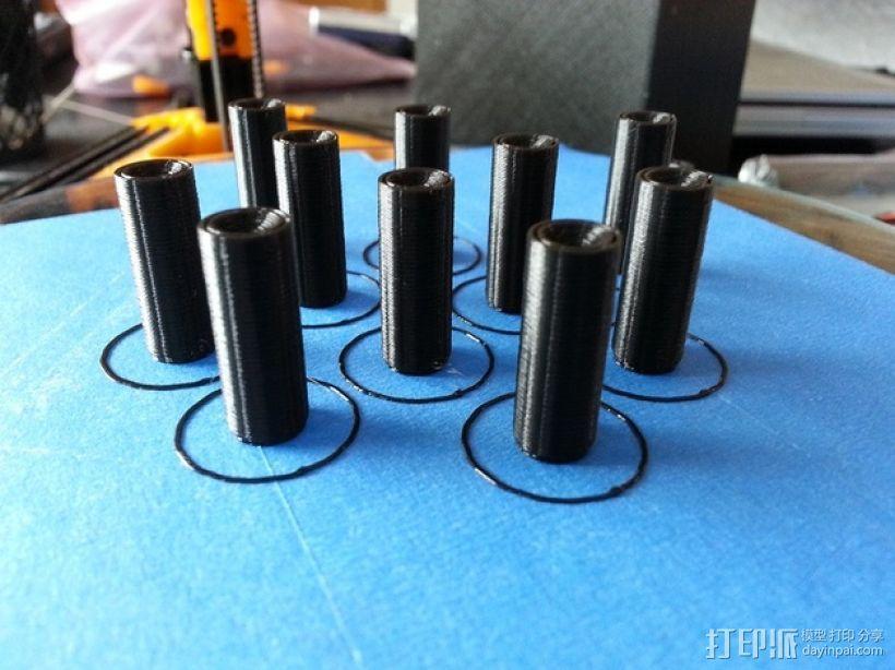 关节轴承 3D打印模型渲染图