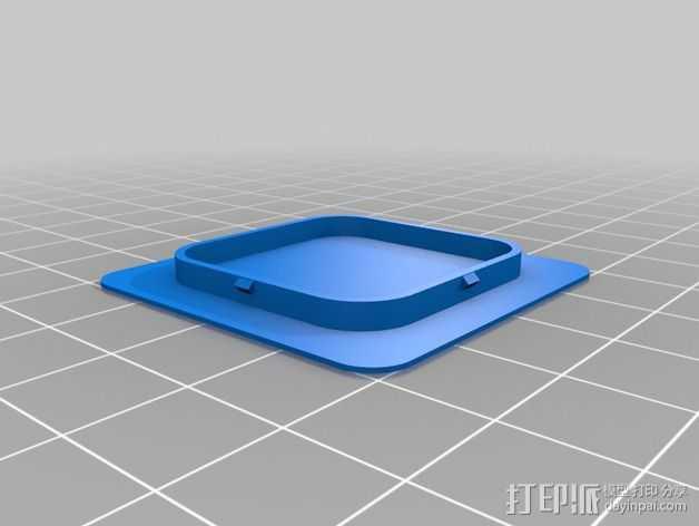 XYZ Printer Da Vinci 1.0打印机帽盖 3D打印模型渲染图