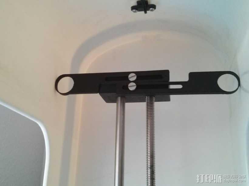 Robo3D打印机Z轴稳定器 3D打印模型渲染图