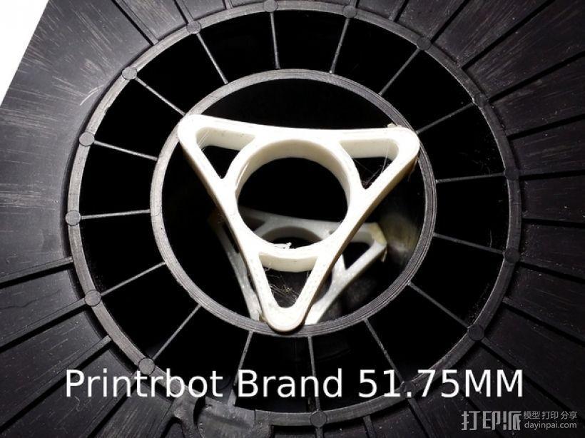 Printrbot打印机线轴架 3D打印模型渲染图