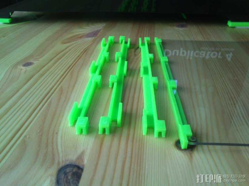 打印机玻璃框 3D打印模型渲染图