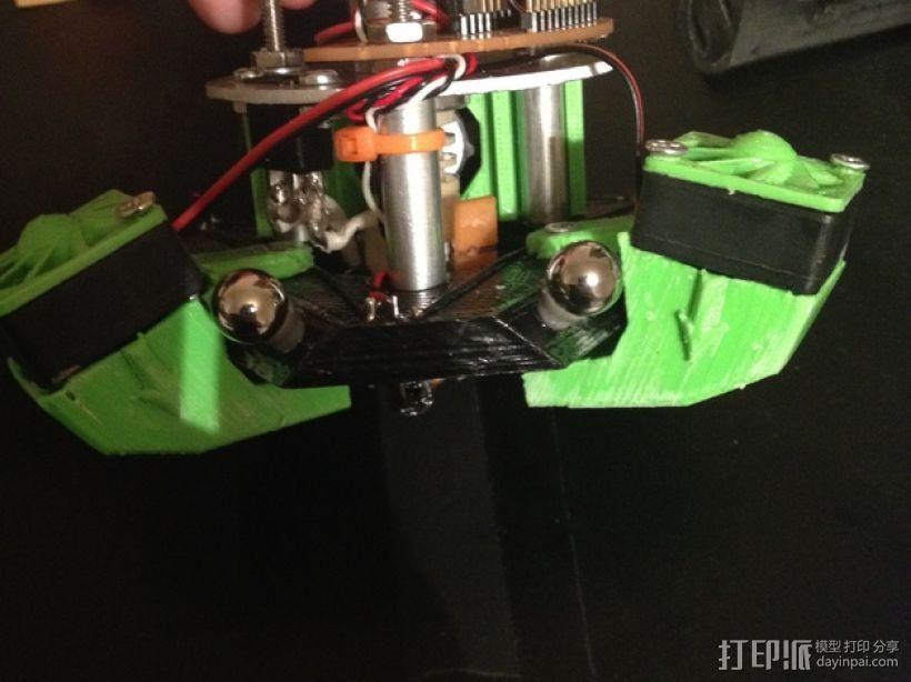 rostock max 打印机通风导管 3D打印模型渲染图