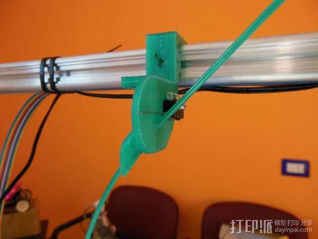 线材传感器 3D打印模型渲染图