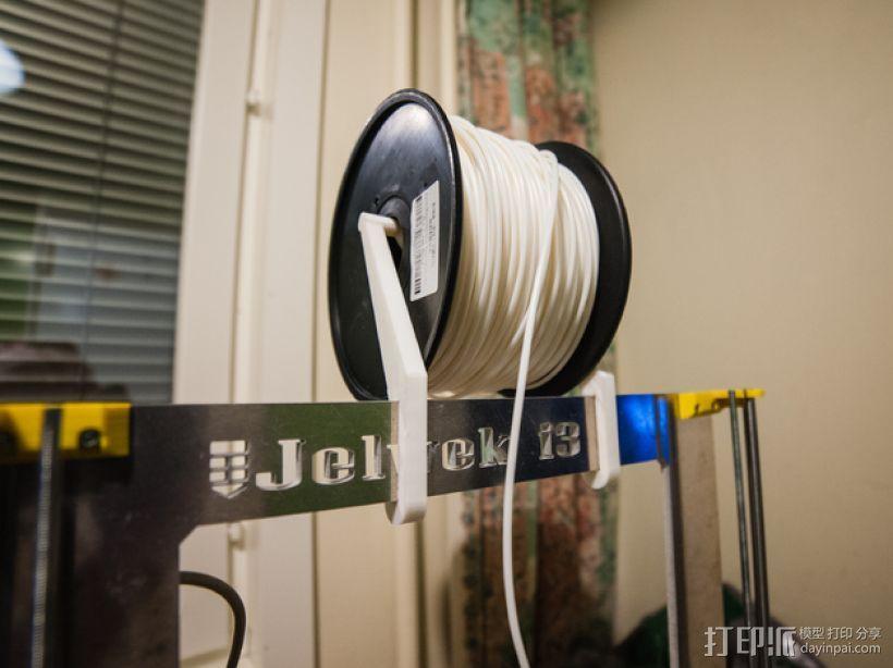 Prusa i3打印机线轴架 3D打印模型渲染图