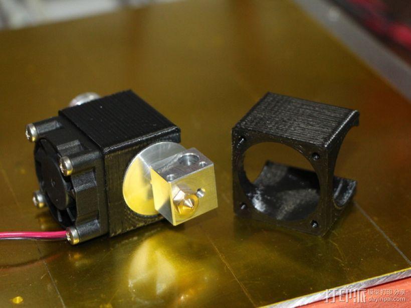 风扇座 风扇安装架 3D打印模型渲染图