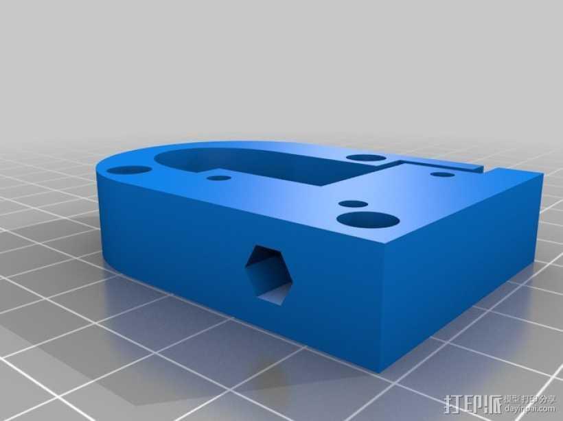 Kossel Mini打印机 3D打印模型渲染图