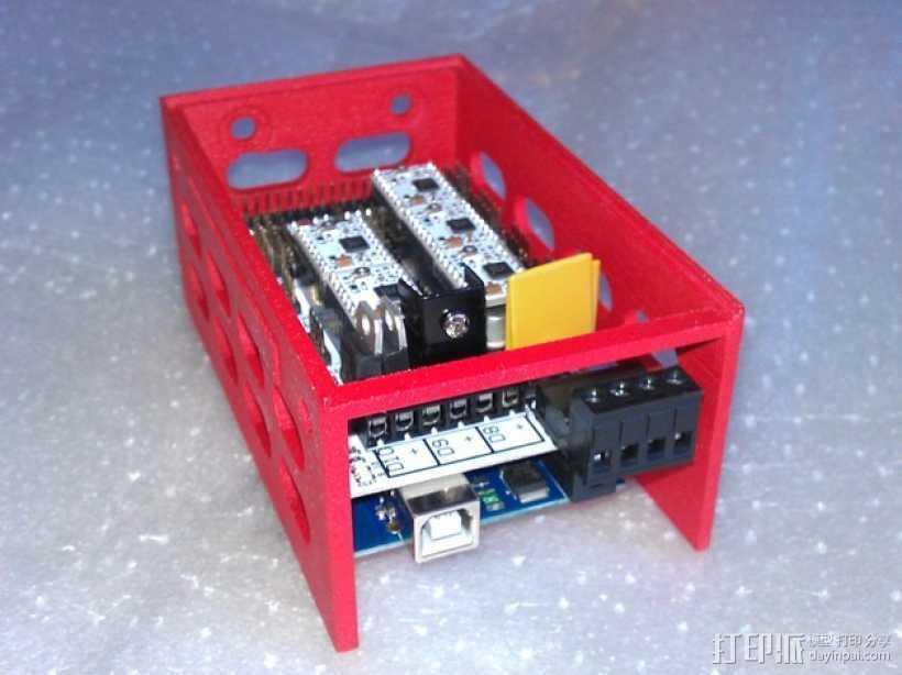 电路板保护外盒 3D打印模型渲染图
