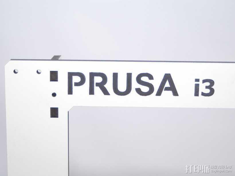 Prusa i3打印机外框 3D打印模型渲染图