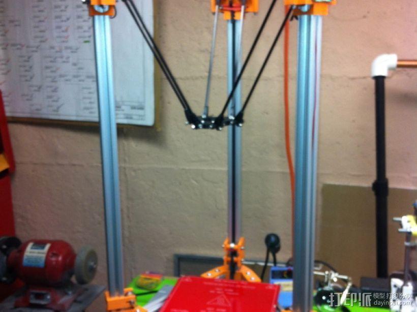 Rostock 打印机 3D打印模型渲染图