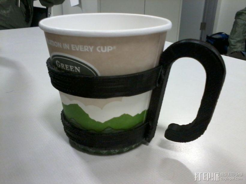 咖啡杯杯托 3D打印模型渲染图