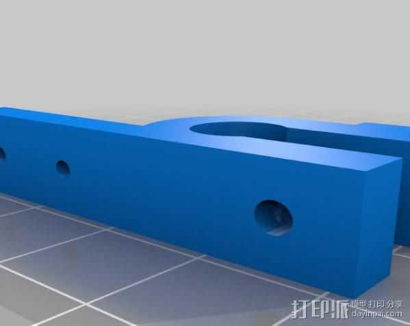 线圈收集器 3D打印模型渲染图