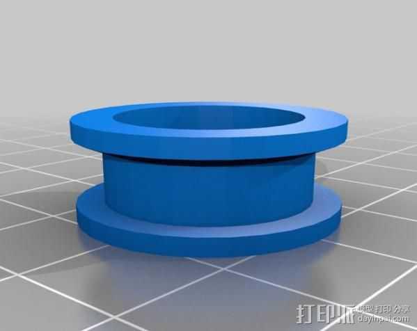 轴承惰轮 皮带滑轮 3D打印模型渲染图