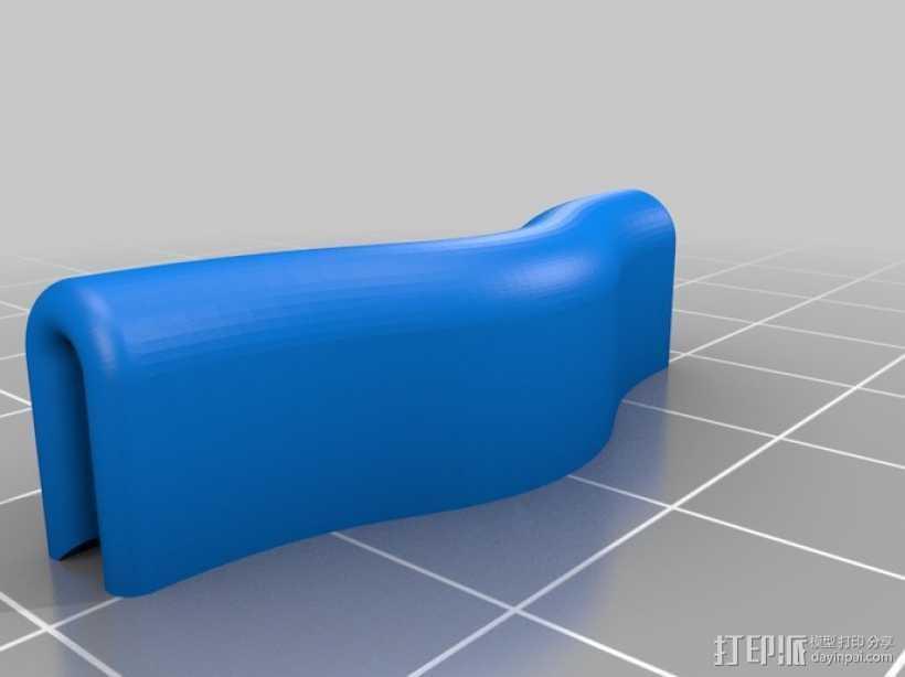 Ultimaker打印机皮带张紧器 3D打印模型渲染图
