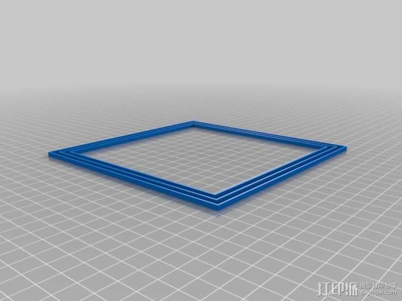 打印机调平器 3D打印模型渲染图