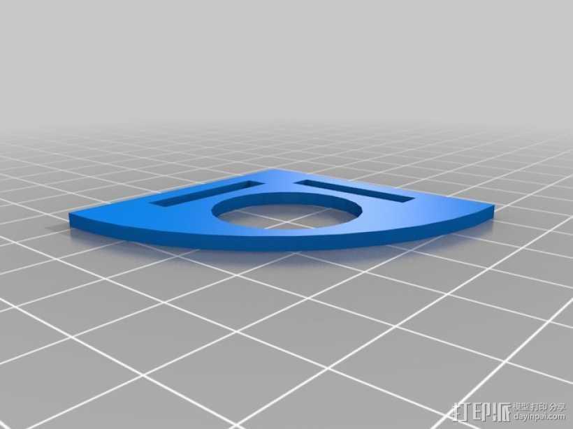 升级版镍标度测试器 3D打印模型渲染图