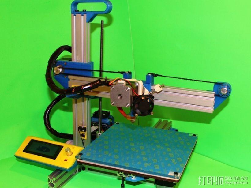 打印机滑块 3D打印模型渲染图