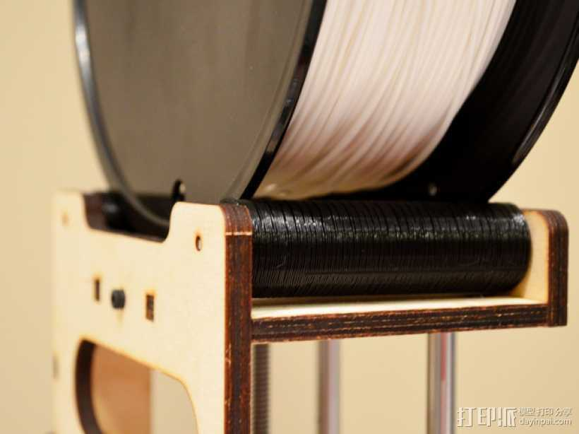 线轴扩展器  3D打印模型渲染图