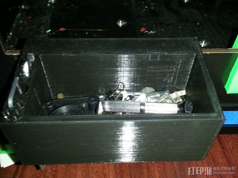 零件盒 配件盒  3D打印模型渲染图