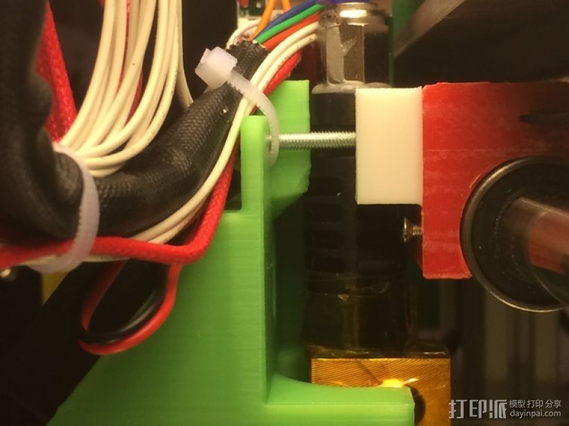 J-head喷嘴支架 3D打印模型渲染图