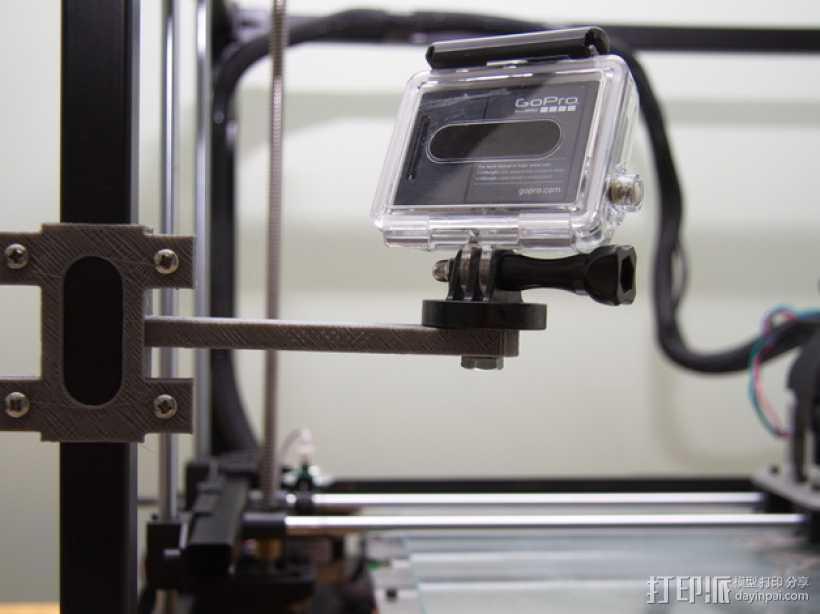 相机脚架 3D打印模型渲染图