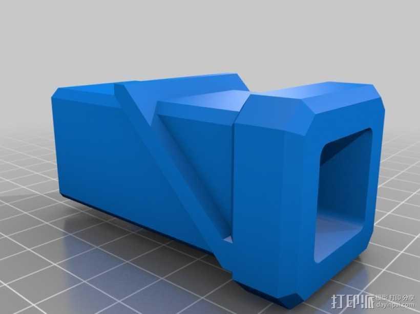 线轴适配器 3D打印模型渲染图