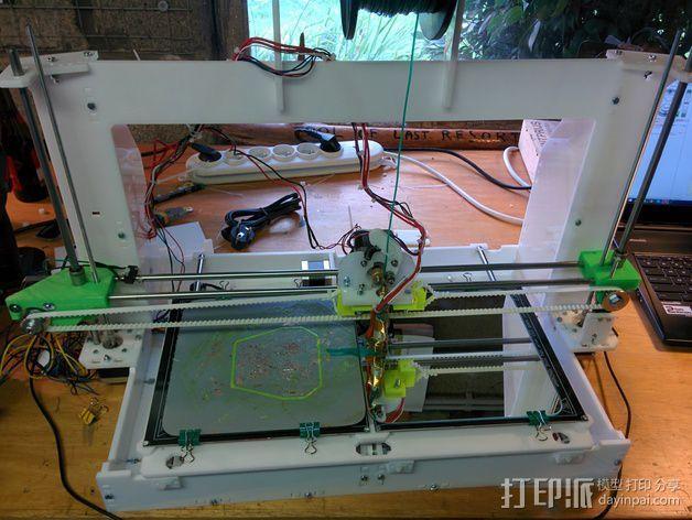 Graber 打印机 3D打印模型渲染图