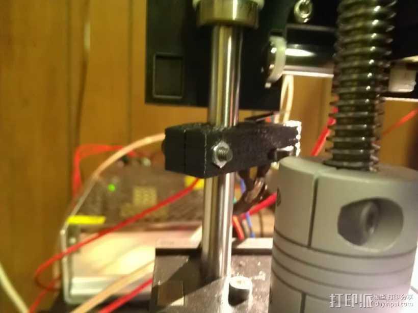 OneUp/TwoUp打印机Z轴限位开关固定架 3D打印模型渲染图