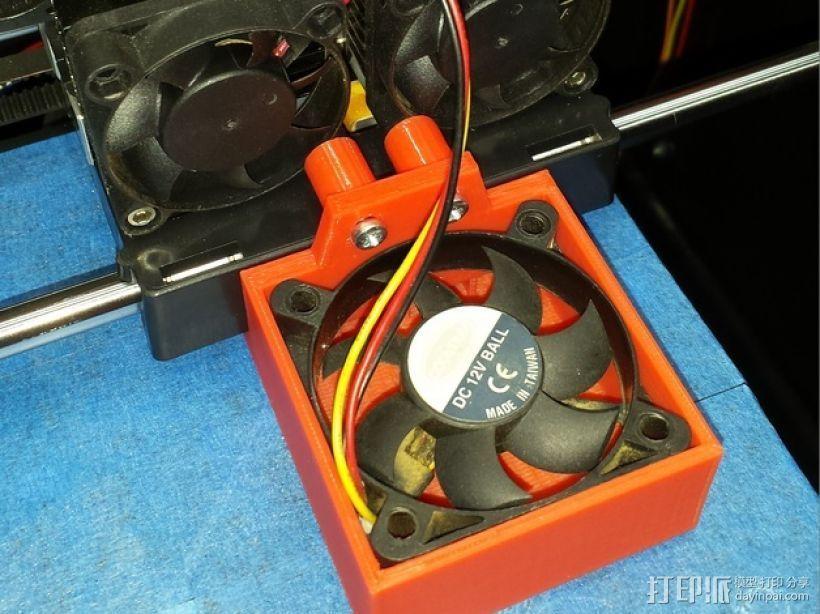 风扇架 风扇导管 3D打印模型渲染图