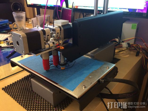 Printrbot Simple Metal 打印机 3D打印模型渲染图