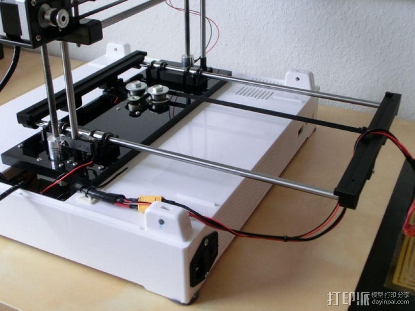 Y轴丝杆固定器 3D打印模型渲染图