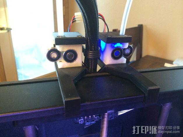导线器 线材导轨 3D打印模型渲染图