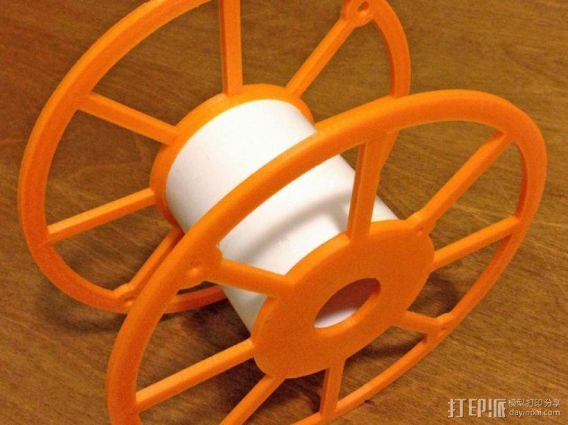 3D打印机线轴架 3D打印模型渲染图