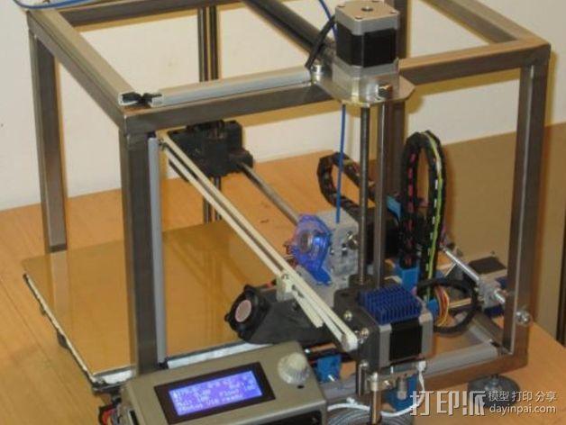 GRRF PRotos打印机 3D打印模型渲染图