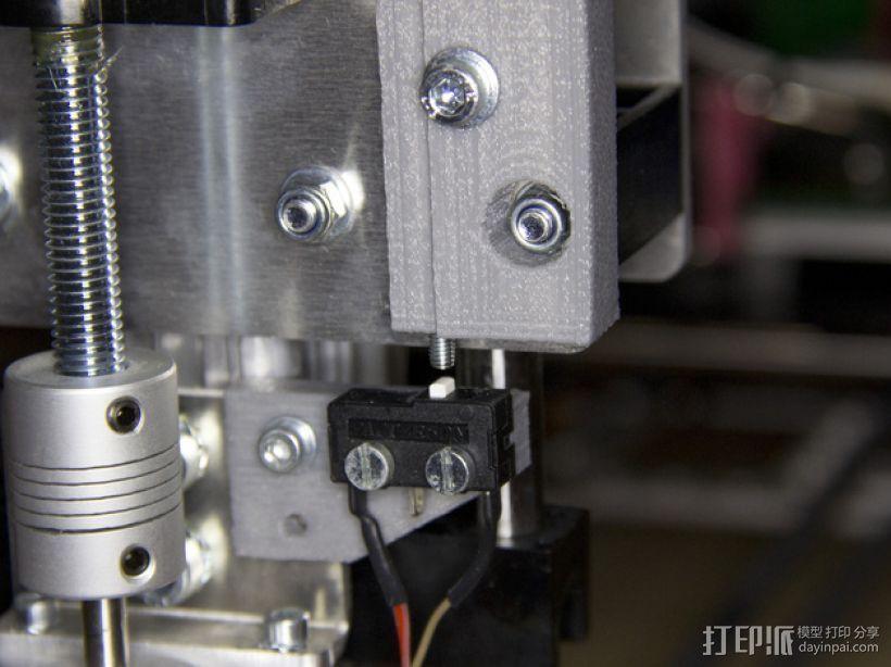 Z轴调平器 3D打印模型渲染图