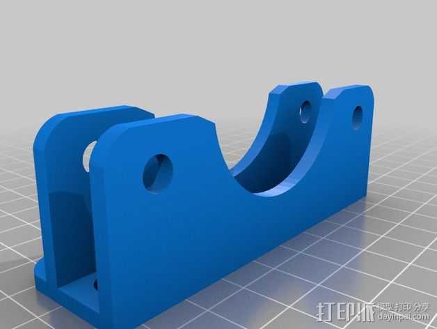 微型线轴架 3D打印模型渲染图