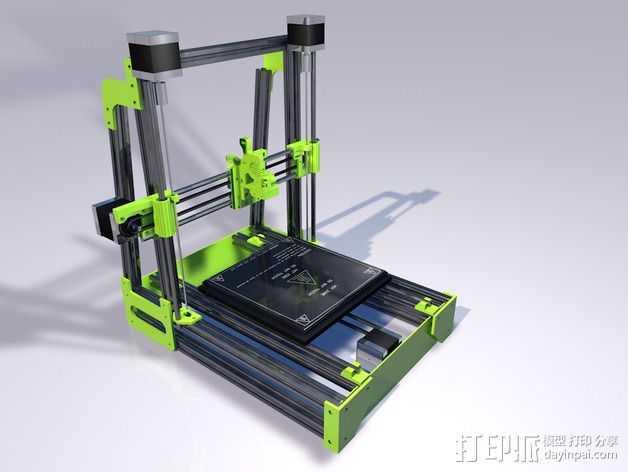 MendelMax 2.0打印机部件 3D打印模型渲染图