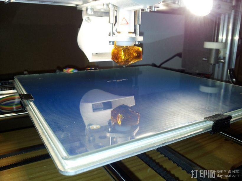 打印机热床垫板 3D打印模型渲染图