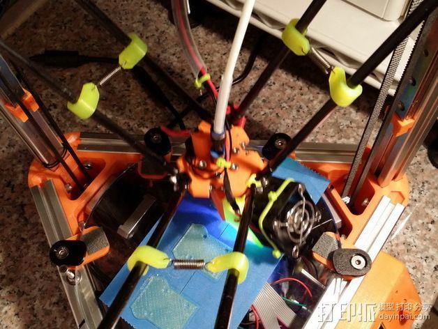 弹簧夹 3D打印模型渲染图