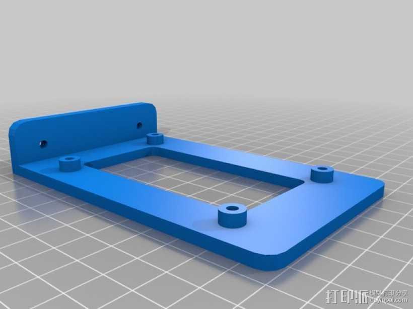 RAMPS 1.4控制板支架 3D打印模型渲染图