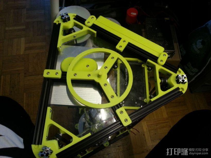 线轴卷 线轴卷线器 线轴支架 3D打印模型渲染图
