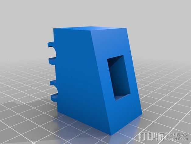 开关支架 3D打印模型渲染图