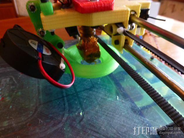 冷却导管 3D打印模型渲染图
