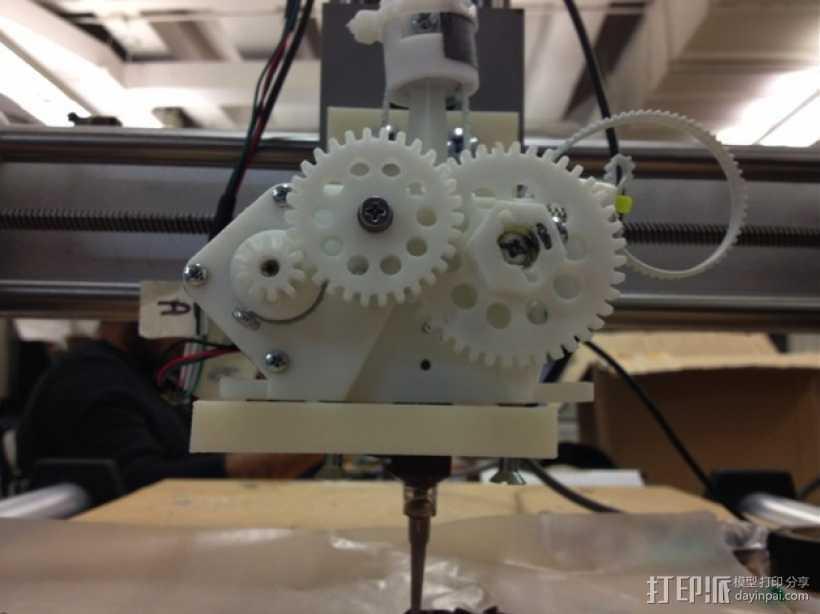 巧克力3D打印机 3D打印模型渲染图