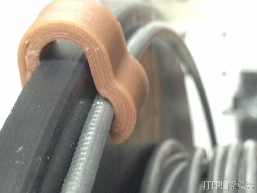 线材夹 3D打印模型渲染图