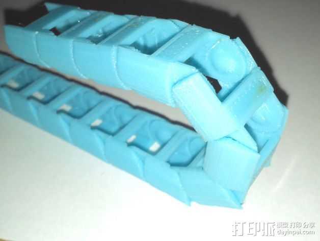圆形锚链 3D打印模型渲染图