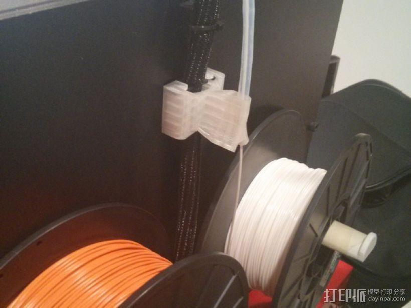 导线器 线材导轨 线材固定器 3D打印模型渲染图