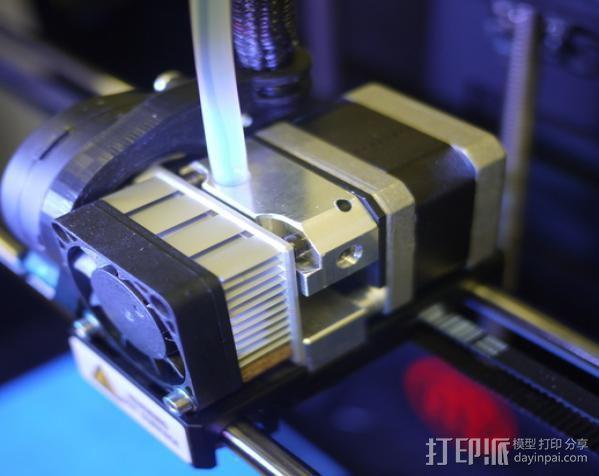 通用式挤出机 3D打印模型渲染图
