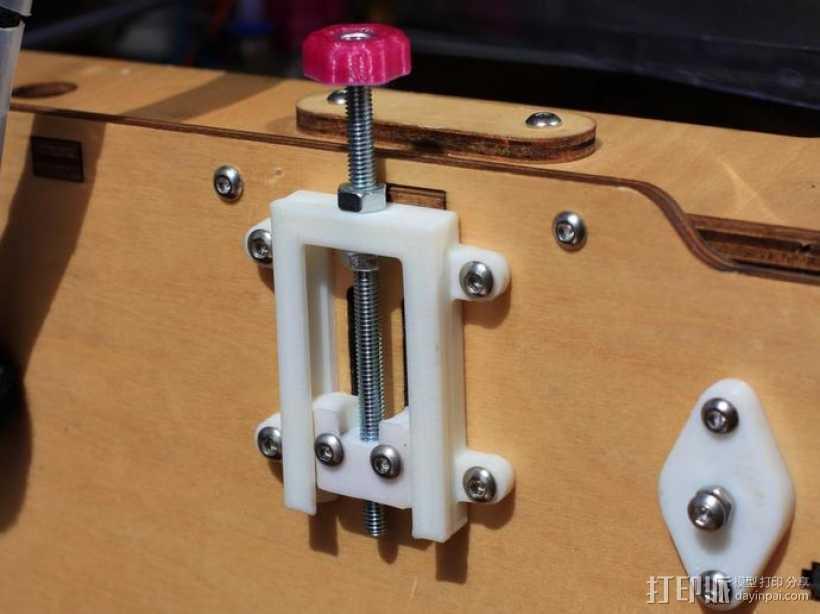 打印机Z轴开关调节器 3D打印模型渲染图