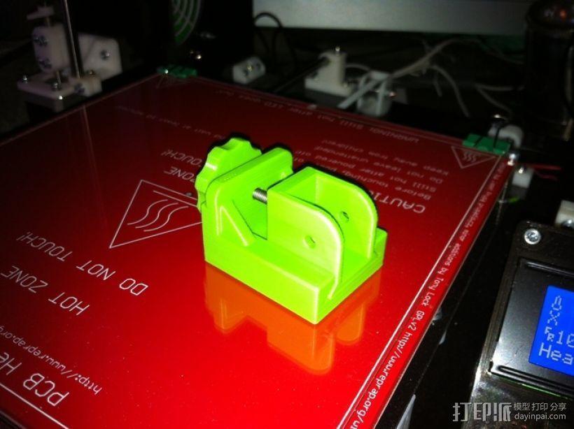 打印机Y轴皮带张紧器 3D打印模型渲染图