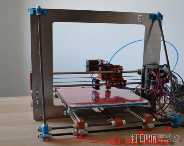 打印机Z轴稳定器 3D打印模型渲染图